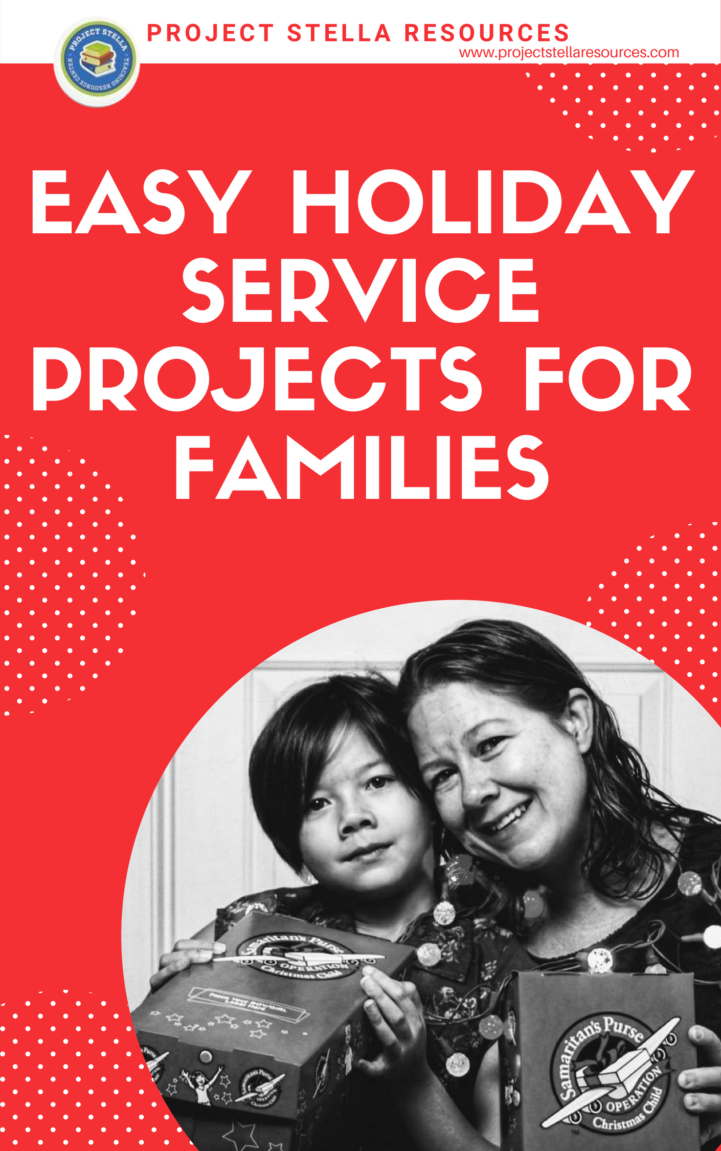 Easy Holiday Service Projects for Families